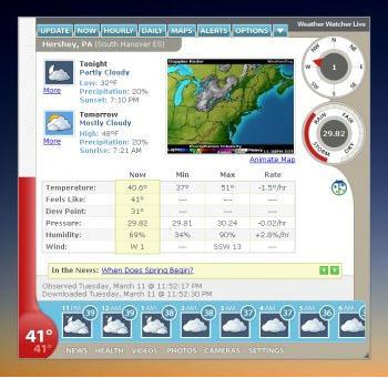 天气预报Weather Watcher Live 7.1.12 免费下载版