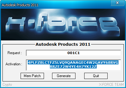 Click on Mem Patch you should see successfully patched. 2011-12-16 AutoCAD for M