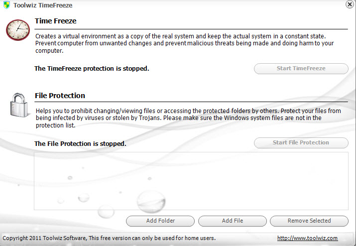Toolwiz Time Freeze(新加坡虚拟系统恢复)下载1.9.2正式免费版