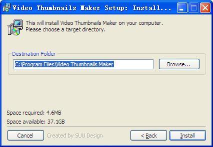 视频缩略图制作 video thumbnails maker 图片预览