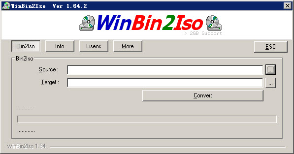WinBin2Iso(镜像转换下载) V1.66 官方绿色版
