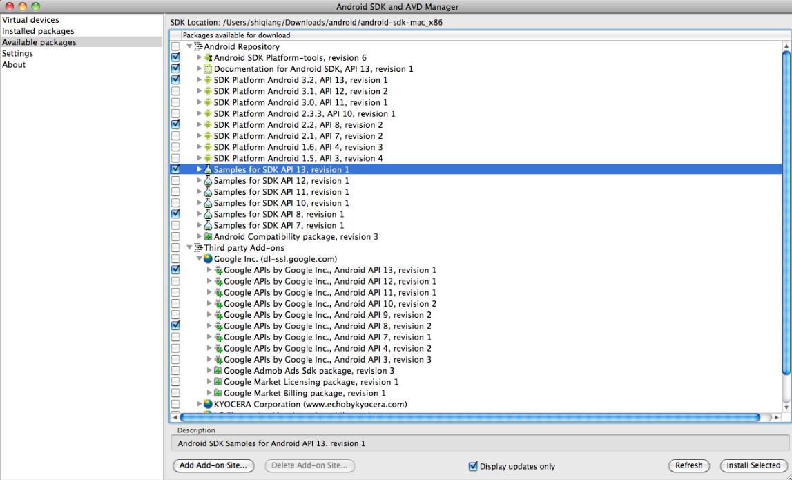 苹果电脑mac系统安装android模拟器图片