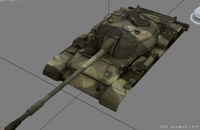 wot坦克模型制作:迷彩涂装和logo制作教程
