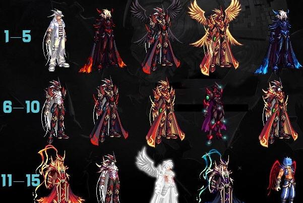 dnf怎么改时装补丁_dnf剑豪异界套图片 dnf鬼剑天6无时装和全时装改25套 图片