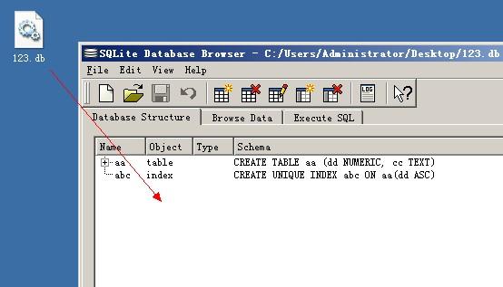 browser数据库查看器图文使用教程