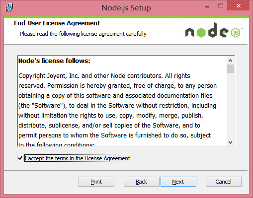 node.js+express安装配置教程、构建JavaScript的Web开发环境