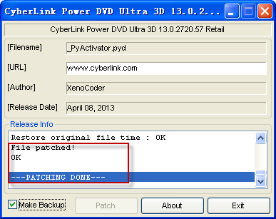 cyberlink powerdvd 16 破解