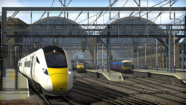 如果跟《模拟火车2014》比较的话