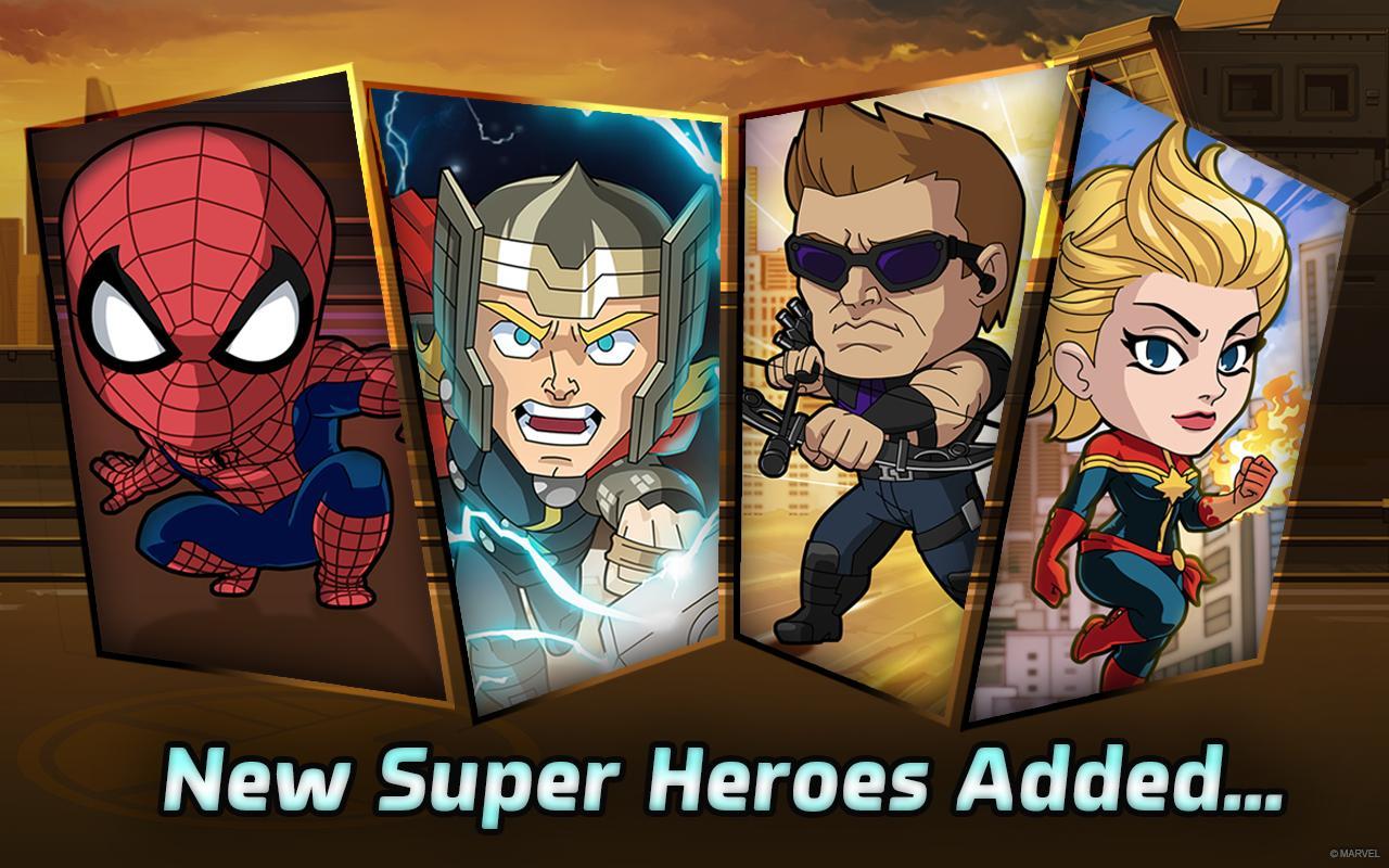 ...破解版 漫威英雄跑酷下载1.0.3 无限金币修改版 西西安卓...
