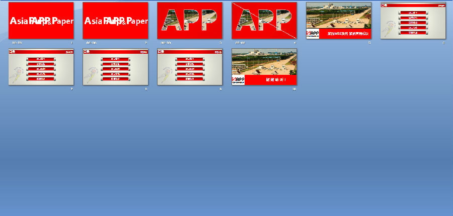 企业公司项目汇报PPT模板下载