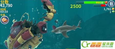 ... 高清 我玩的饥饿的鲨鱼 进化 饥饿鲨进化大螃蟹怎