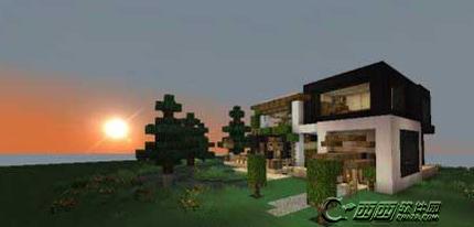 我的世界别墅怎么设计