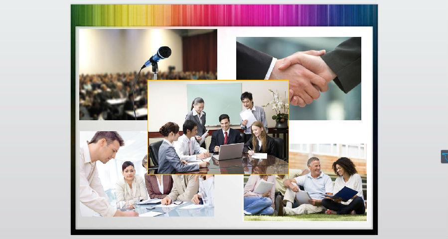 商务职场人物背景ppt图片素材下载
