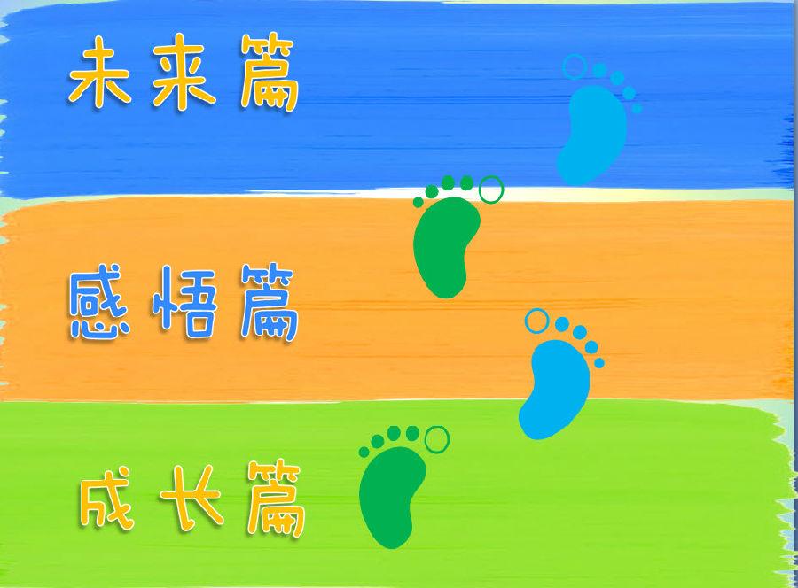 我的足迹我的梦想主题PPT 我的足迹我的梦想主题PPT模板下载