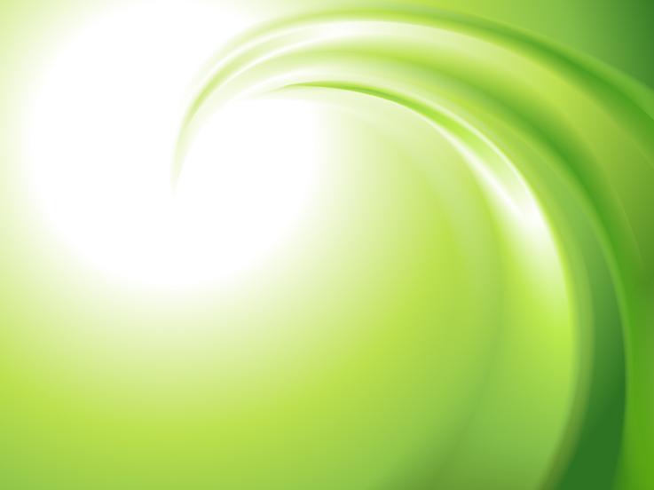 绿色漩涡主题ppt背景图片下载