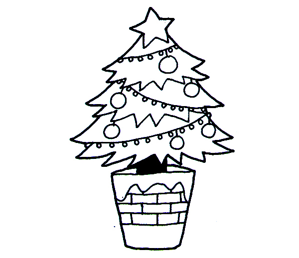 2016圣诞节圣诞树图片