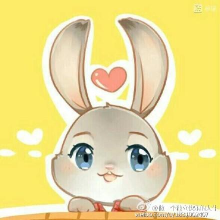 狐兔的情侣头像,还有兔子朱迪的单独的头像高清版哦