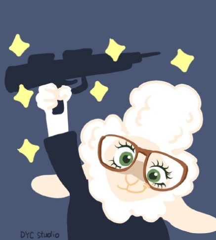 疯狂动物城羊助手头像|疯狂动物城羊副市长图片下载版