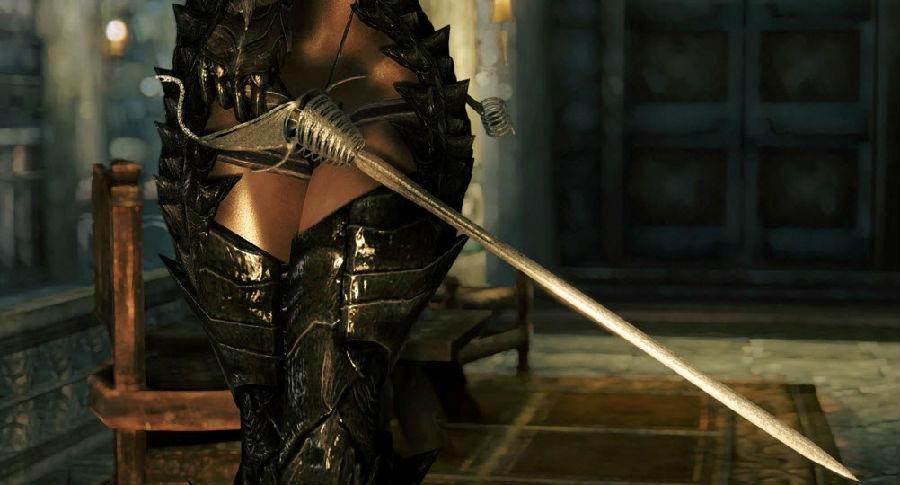 上古卷轴5:天际精致莉莉丝护手长剑:上古卷轴5:天际是一款动作冒险类游戏,上古卷轴5:天际精致莉莉丝护手长剑一共有两款,均是欧式护手型长剑,喜欢的玩家快快下载使用吧。