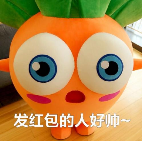 超萌萝卜要红包高清表情包 超萌萝卜要红包表情包下载图片