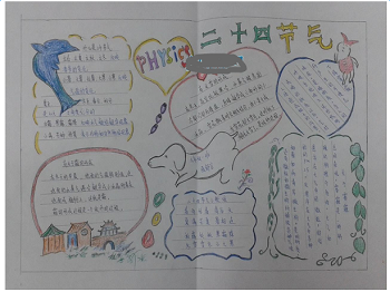 谷雨手抄报图片素材大全最新版下载 2017二十四节气谷雨中国风手抄