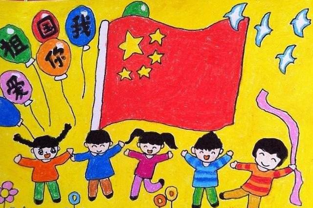 2017国庆节简笔画图片素材下载 2017国庆节简笔画图片大全下载高清版